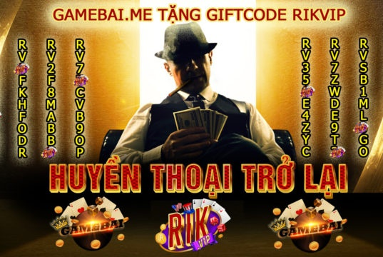 cach nhan giftcode rikvip-8